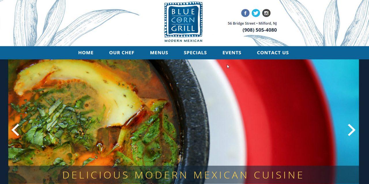 Mobile Restaurant Website Design
