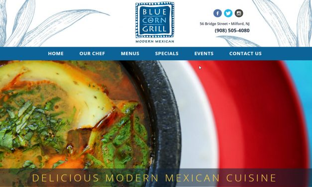 Mobile Restaurant Website Design