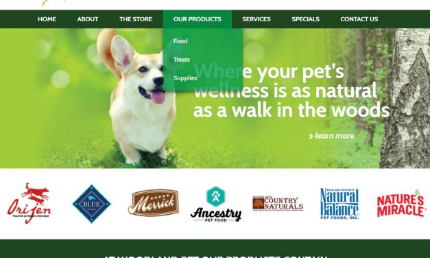 Logo and Mobile Website Design for NJ Pet Store