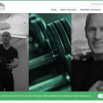 Mobile friendly web design for NJ Personal Trainer